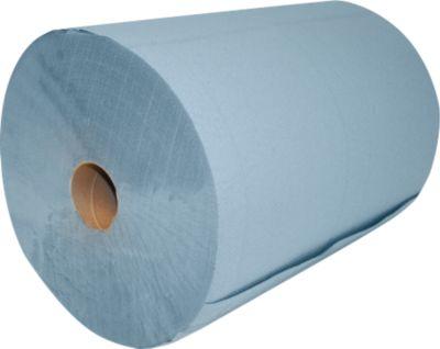 Putzrolle, blau 2-lagig, 2 Stück