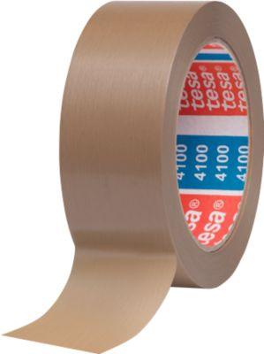 PVC Packband tesa® 4100, braun, 38 mm, 8 Rollen