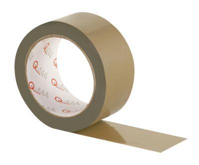 PVC plakband Qtape® 444, bruin, 6 rollen