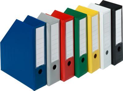 tijdschriftcassette- pk van 5 - zwart