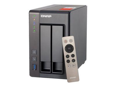QNAP TS-251+ - NAS-Server - 28 TB