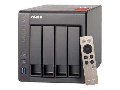 QNAP TS-451+ - NAS-Server - 56 TB
