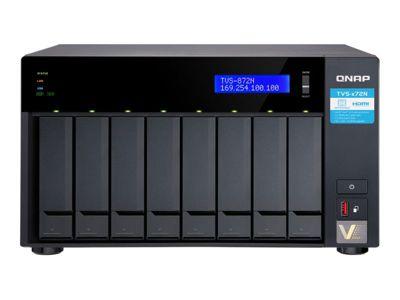 QNAP TVS-872N - NAS-Server - 0 GB