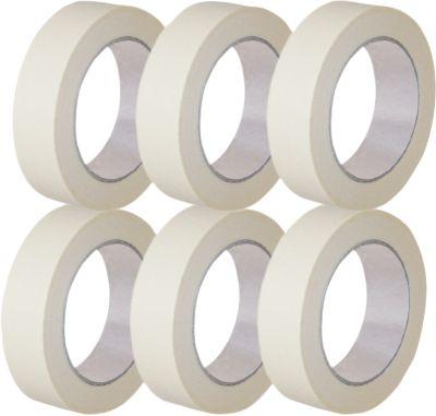 Qualitäts-Abdeckband aus Papier, B 50 mm, 6 Rollen