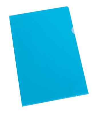 Qualitäts-Sichthüllen, 110 my, blau