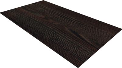 QUANDOS BOX afdekblad, B1000 x D 440 x H 8 mm, Moor-eiken
