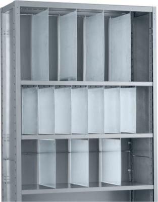 R4000- scheidingswand, doorlopend, h 341 mm, 300 mm diep
