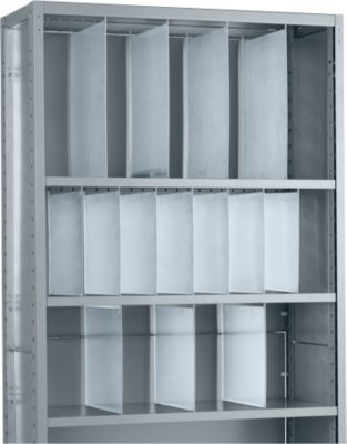 R4000- scheidingswand, doorlopend, h 500 mm, 400 mm diep