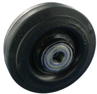 Rad, Elastic-Vollgummi mit Kugellager, Rad-ø 250 mm