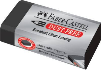 Radierer, Faber Castell Dust-free schwarz