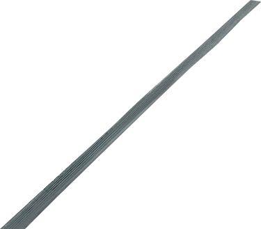 Randprofiel, lange zijde, zwart
