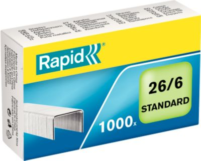 Rapid Heftklammern 26/6 mm, 1000St