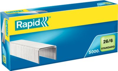 Rapid Heftklammern 26/6 mm, 5000St