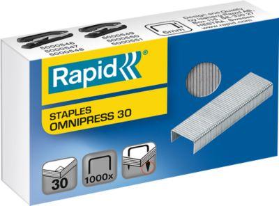 Rapid Heftklammern Omnipress 30, 1000 Stück
