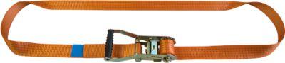 Ratschenzurrgurt, 25 mm Bandbreite, einteilig, 6 m