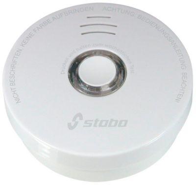 Rauchmelder Stabo Longlife, 10-Jahres-Batterie, mit Stummschalt-Taste