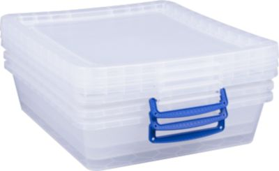 Really Useful Boxes opbergboxen, 10,5 l, 3 stuks