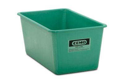 Rechteckbehälter Standard, GFK, 300 l, grün