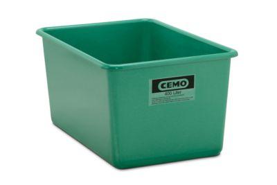 Rechteckbehälter Standard, GFK, 400 l, grün