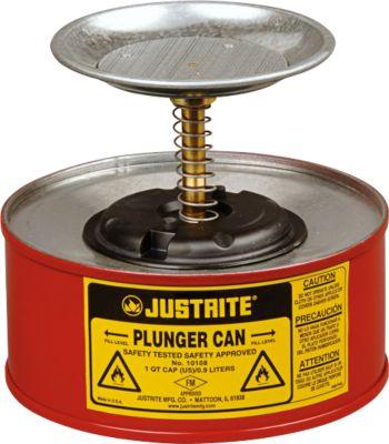Récipient humecteur PREMIUM Line en tôle d'acier, rouge, Ø185xh143mm, 1l