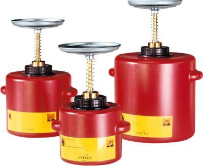Récipient humecteur STANDARD LINE, en polyéthylène, 1 litre, rouge