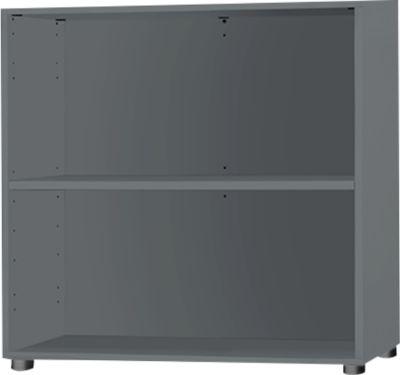 Regal Start Up, B 800 x T 420 x H 726 mm, 2 OH & 1 Fachboden, graphit