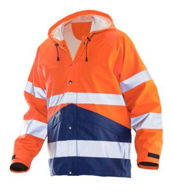 Regenjacke HV orange/marine XXXL