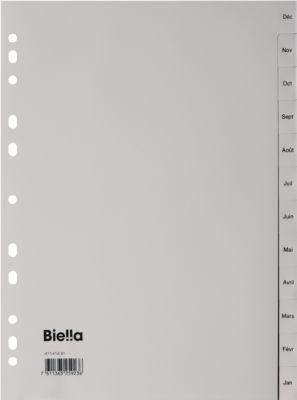Register Biella, Dez.- Jan. 12 teilig, deutsch