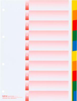 Register Kolmaflex, A4, blanko, 10 Tabs