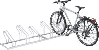 Reihen-Bügelparker, für Fahrräder, einseitig, 2 Einstellplätze, zerlegt
