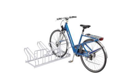 Reihen-Bügelparker, für Fahrräder, zweiseitig, 4 Einstellplätze, zerlegt