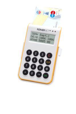 Reiner SCT Chipkartenleser cyberJack one, m. TAN-Generator, für Online-Banking