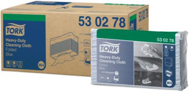 Reinigungstuch TORK® Premium 530, blau