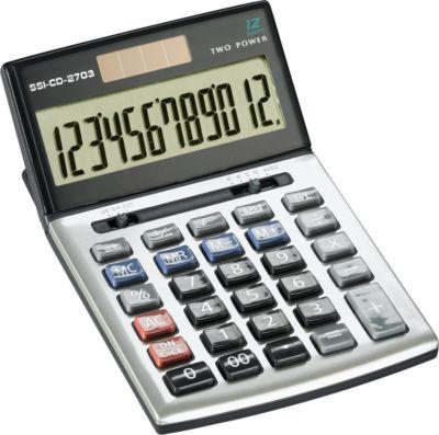 Rekenmachine SSI CD-2703, 12 cijfers