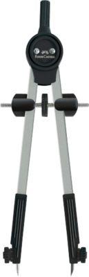 Riesenteil-Zirkel Faber-Castell, robuste Zahnradführung, inkl. Ersatzteilen & Minen