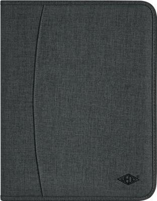 Ringbuchmappe COLLEGE, A4, Polyester, herausnehmbare 2-Ringmechanik (Ø 30 mm), mit Reißverschluss