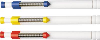 RITTER Druckkugelschreiber Spring, weiß/weiß