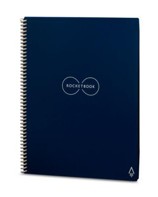 Rocketbook Everlast, A5, 32 Blatt punktkariert, wiederverwendbar, Appsteuerung, mit Spezialstift, blau