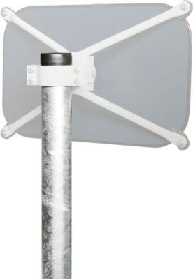Rohrpfosten, Ø 76 mm, 3000 mm