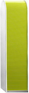 Roldeur voor hoge kast 500 mm breed, groen