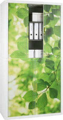 Roldeurkast, bladen, hoogte 2040 mm