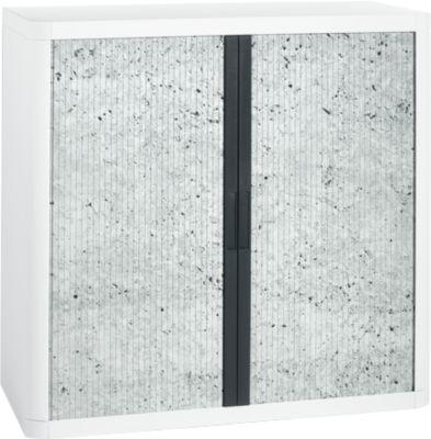 Roldeurkast, rolluiken grijs gespikkeld, hoogte 1040 mm