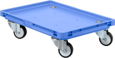 Roll-Fix,  kunst.wielen, blauw, 600 x 400 x 125 mm