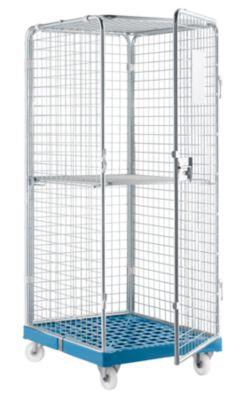 Rollbox Gr. 5 mit klappbarem Zwischenboden, hellblau