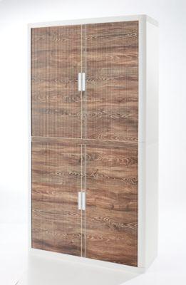 Rollladenschrank, Rollladen Eiche Vintage, Höhe 2040 mm