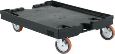 Rollpalette RLP 86, L 800 x B 600 x H 200 mm, mit Feststeller