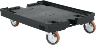 Rollpalette RLP 86, L 800 x B 600 x H 200 mm, oh. Feststeller