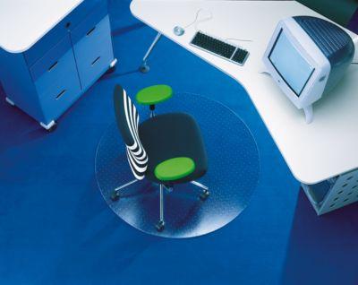 Rollsafe vloerbeschermingsmat, vorm C, Ø 60 cm