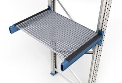 Roosterlegbord, ingelegd, framediepte 1100 mm, binnenwerkse vakbreedte 1900 mm