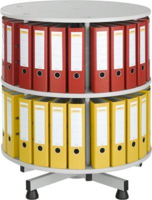 Roterende ordnerzuil, 2 etages, H 880 mm